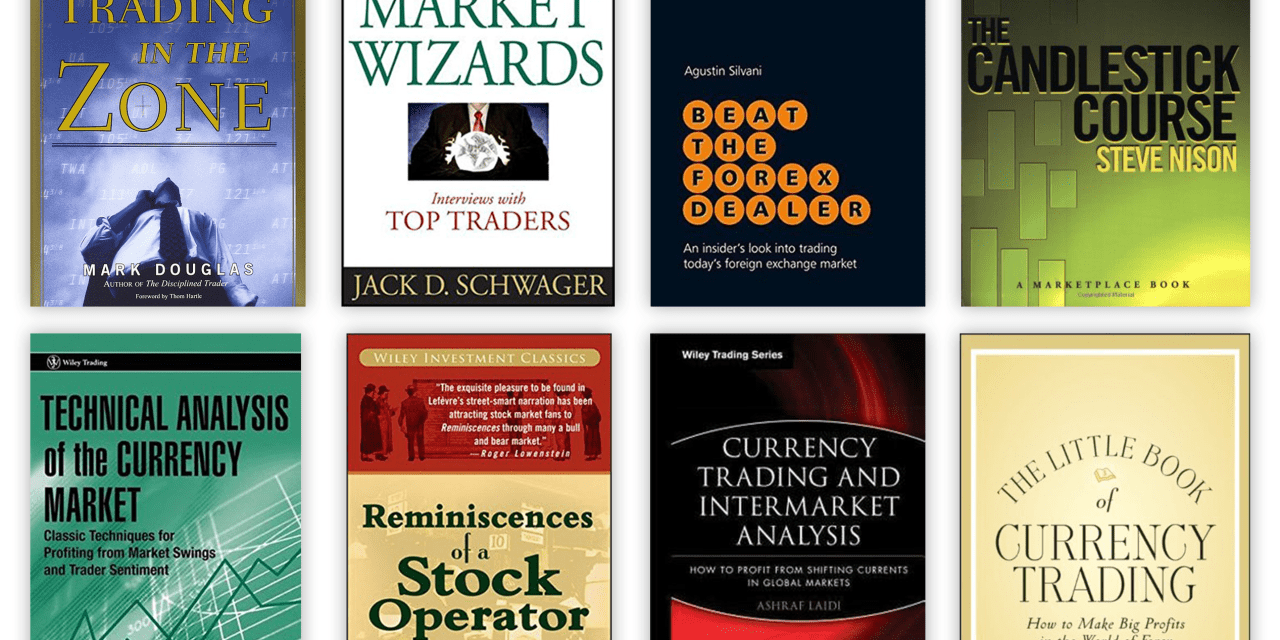 Amazing Forex Giveaway. Win 8 Trading Books that All Traders Must Read.