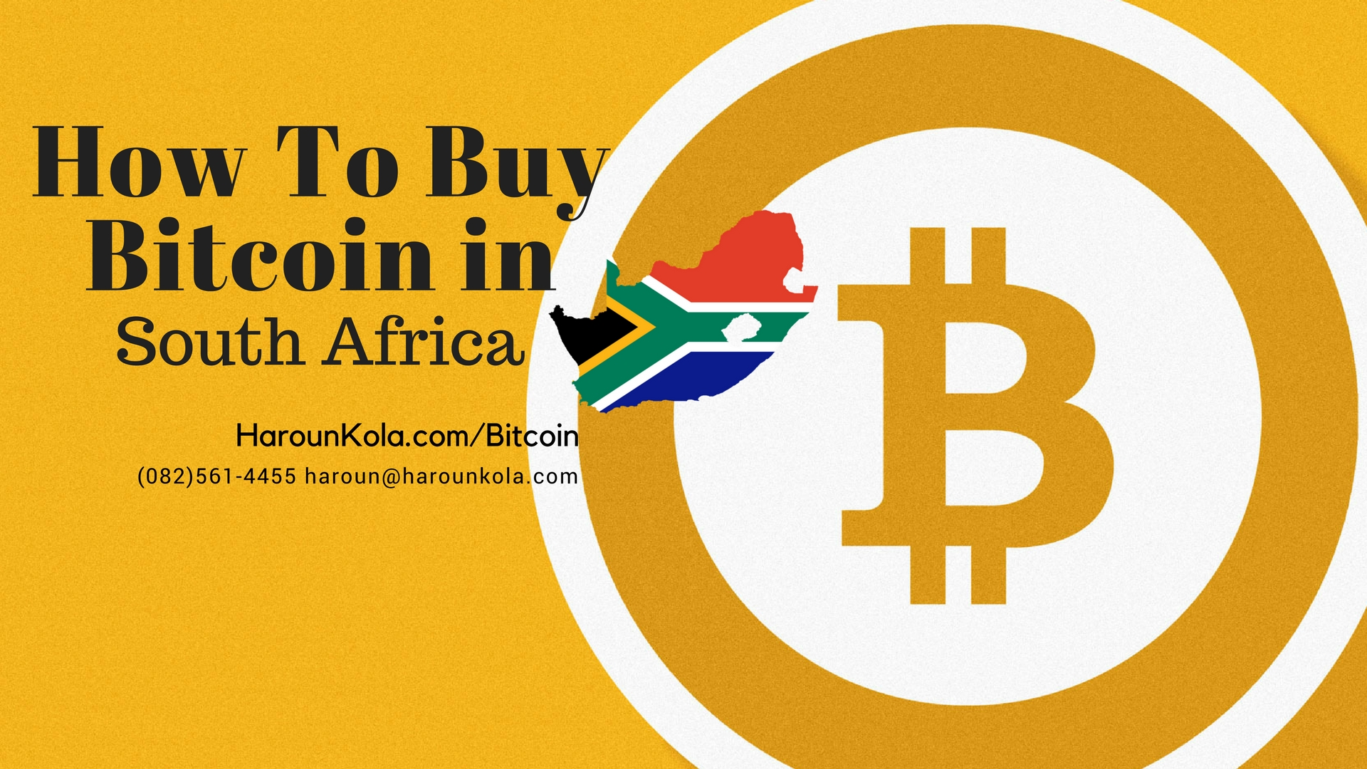 How To Buy Bitcoin In South Africa A Thorough Guide to