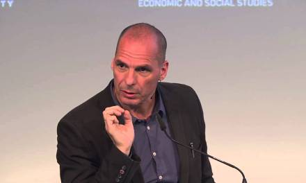 Is Basic Income A Necessity? Yanis Varoufakis Gives A Keynote Talk Arguing For Its Case