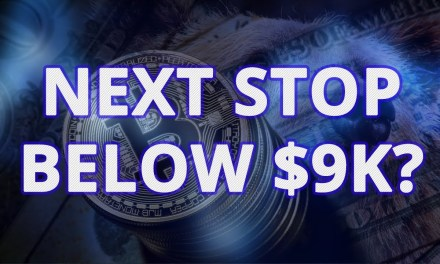 Bitcoin Market Panic Continues. Is The Next Target Below $9k?