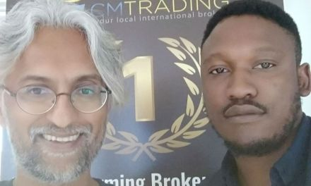 Visiting CM Trading's Offices in Sandton City