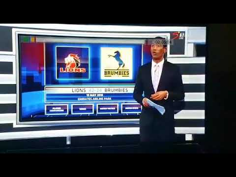 #AshwinWillemse Walks Off SuperSport Set During A Live Broadcast And Almost Broke The Internet