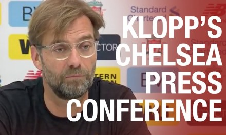 Jürgen Klopp's pre-match press conference for Liverpool's match with Chelsea