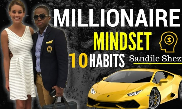 Meet Sandile Shezi. South Africa's youngest millionaire. Or so he claims.