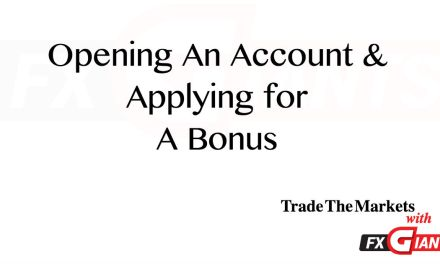 Opening a Live FX Giants Account and Applying for a Bonus