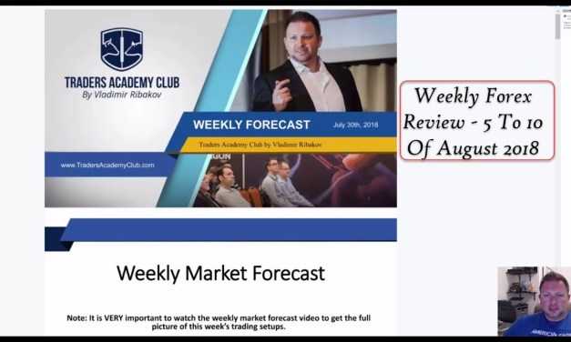 Weekly Forex Review By Vladimir Ribakov 5 To 10 August 2018