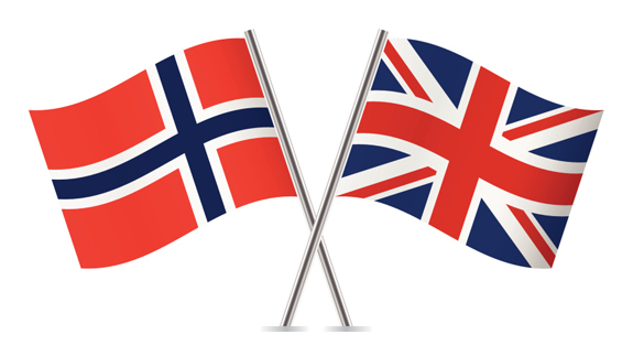 The post-Brexit relationship between Norway and Britain is improving