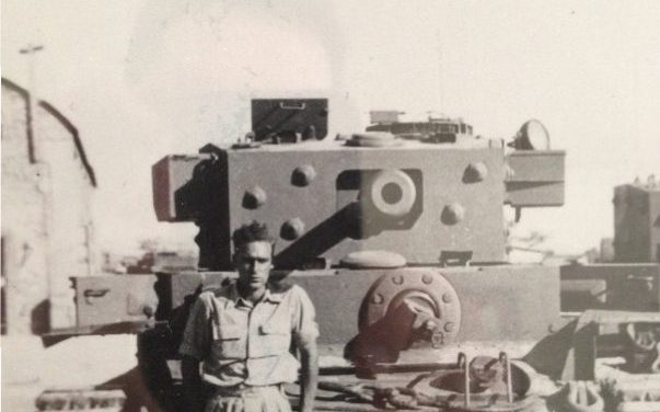 British Army deserter helped the Israeli Armored Corps