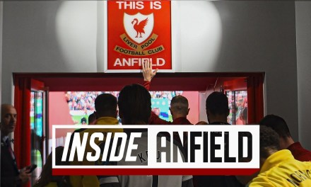 Inside Anfield Tunnel Cam of Liverpool's 4-1 Victory Over Norwich