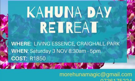 Kahuna Day Retreat 03 November 2019