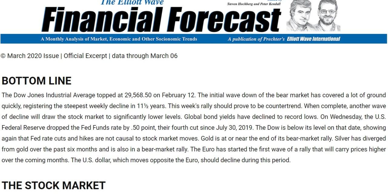 See what Elliott waves show next for stocks
