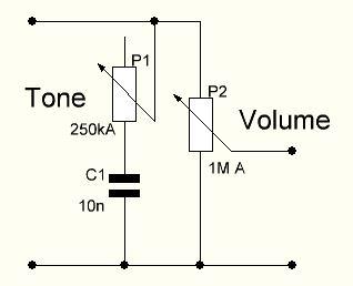 Audio Volume Control Potentiometer Diagram Volume Control