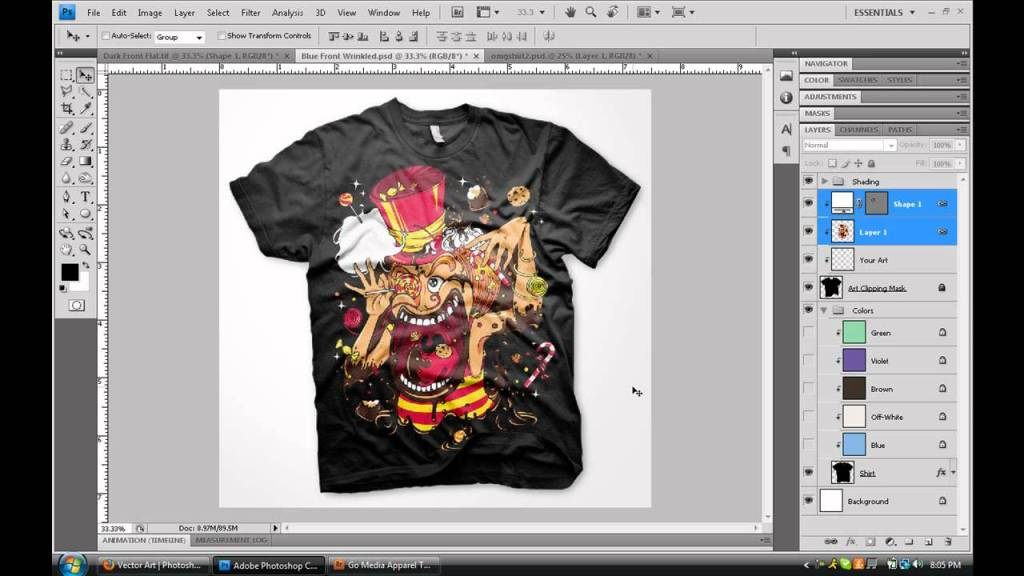 Custom Printing and Design