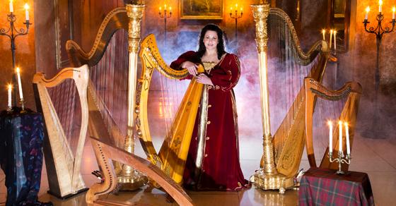 deborah nyack solo harpist
