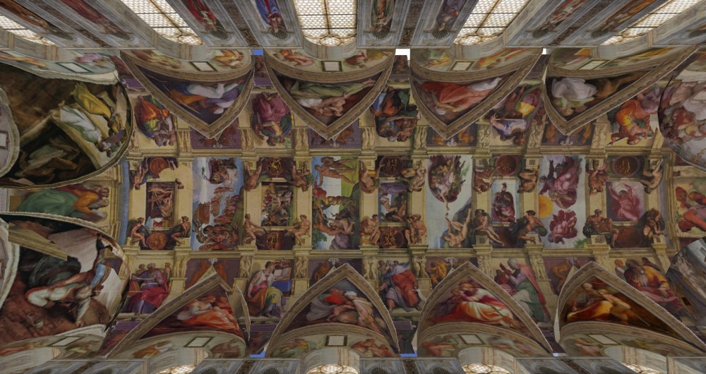The Sistine Chapel in Second Life