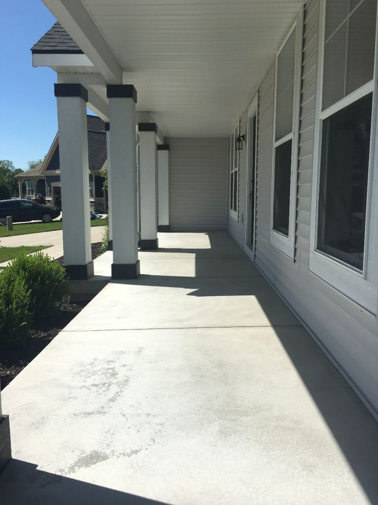 Empty Front Porch