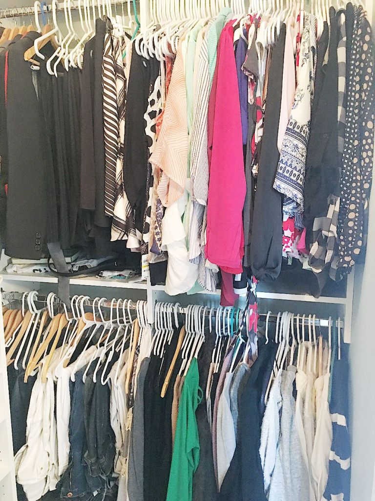 How to organize your master closet