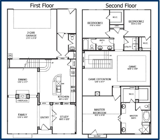 28 2 story floor plan gallery for gt cool two house