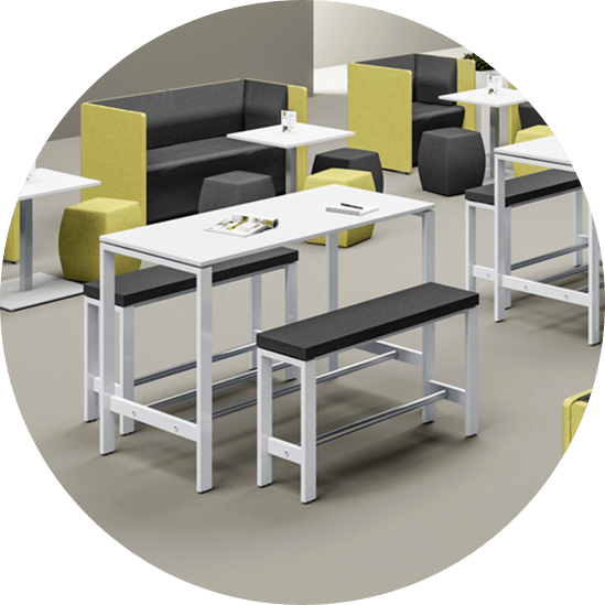 Picture of bistro furniture linking to bistro range for office furniture and home office furniture