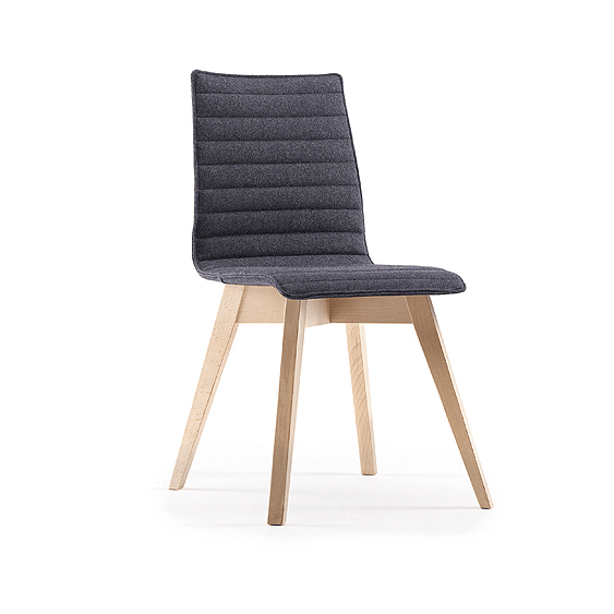 Picture of black bistro chair in the office chairs range