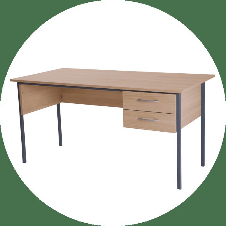 A home desk in the computer desks range