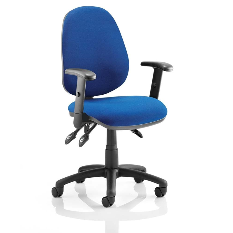 Luna is a quality operator chair for all general office users. A large waterfall seat, big back and robust frame provide an ideal workplace seating solution