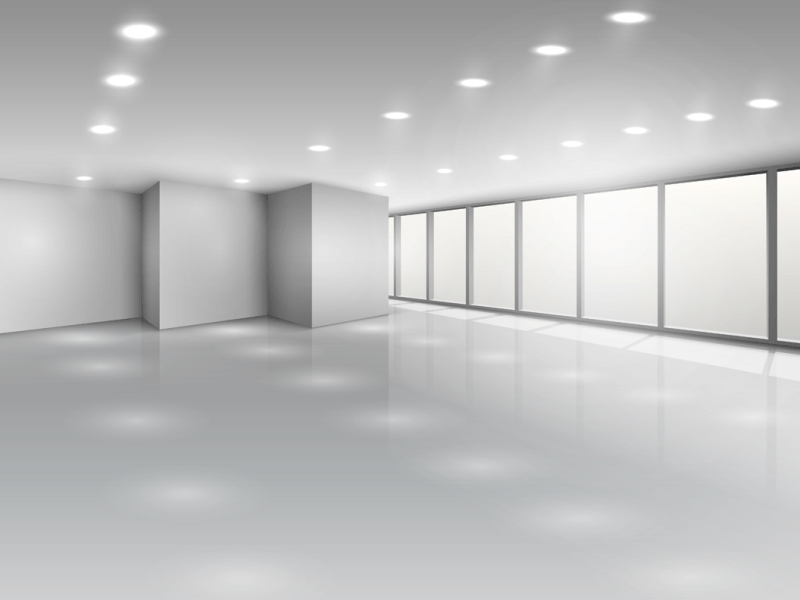 Image of LED light panels in Harper Office Office lighting range
