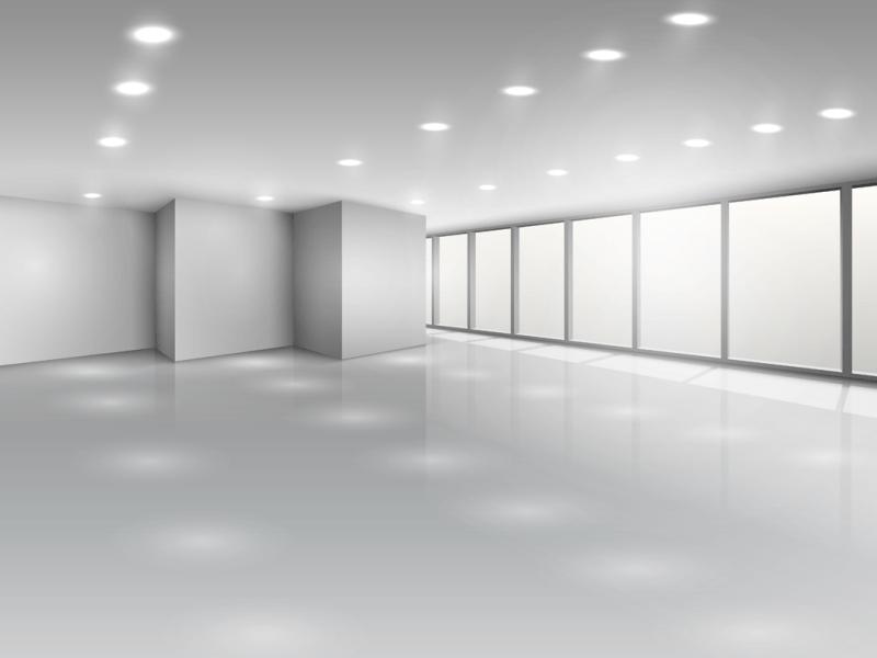 Image of LED light panels in Harper Office Office lighting range
