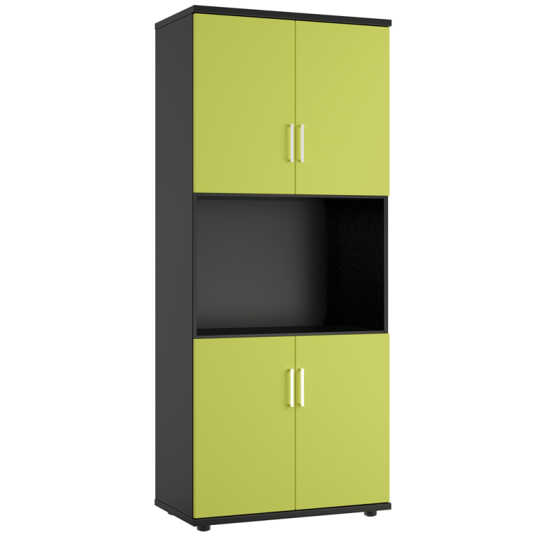 Our range of office cabinets and cupboards provide high-quality storage solutions. Choose from a wide range of cupboard types. This includes desk high options and taller storage to give you even more storage space. With a range of colours and finishes, it's easy to purchase office storage to suit any office environment