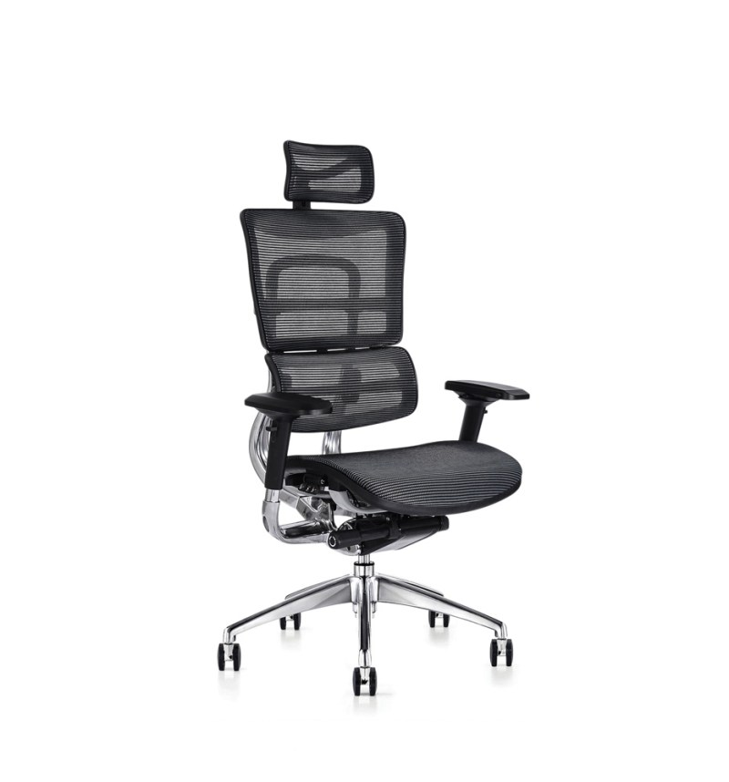 i29 ergonomic chair with mesh seat and ergonomic headrest