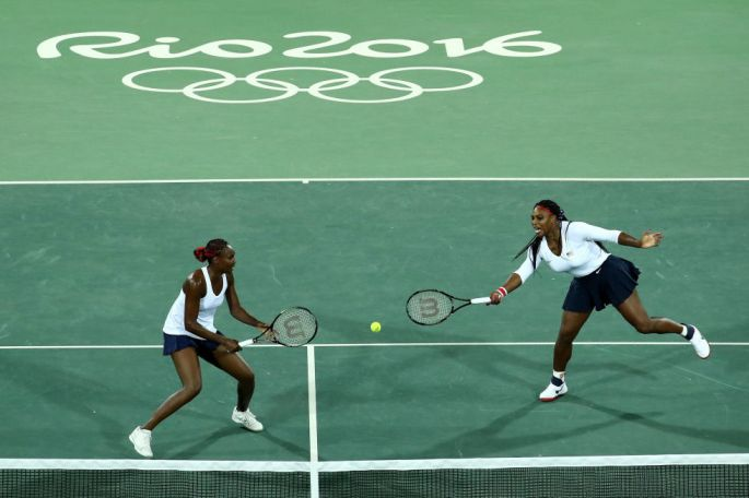 Day two: Serena and Venus Williams lost their first Olympic doubles match against Lucie Šafářová and Barbora Strýcová of the Czech Republic.