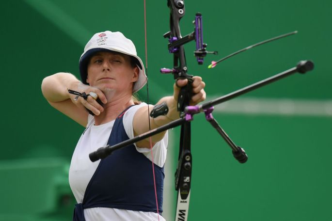 Day four: The archer Naomi Folkard won her two matches in the Women's Individual Elimination Round.