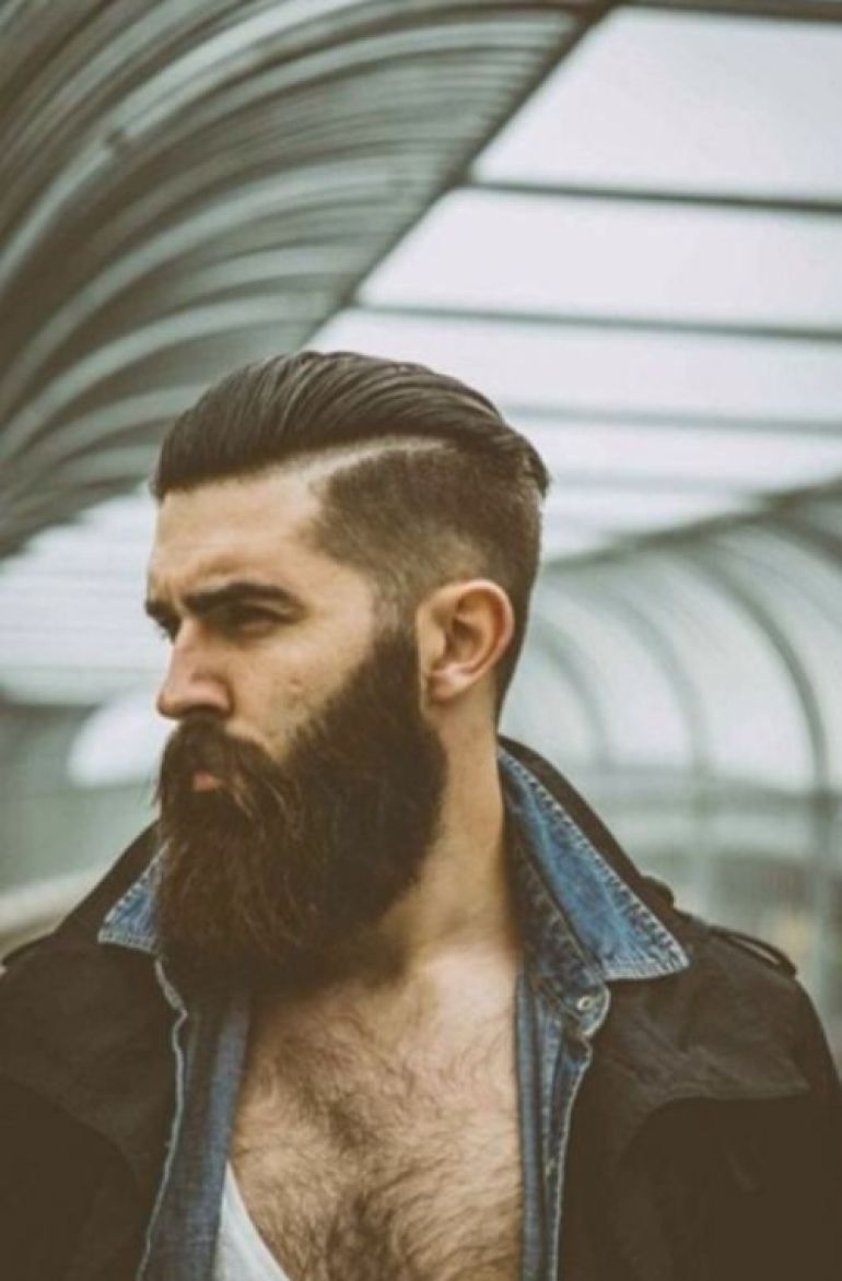 Long Hairstyles for Men - Long Slick Back Hairstyle For Men - Harpmagazine.com