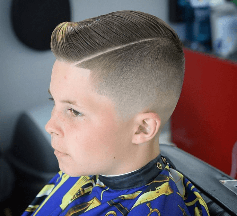 High and Tight Kids Hairstyles