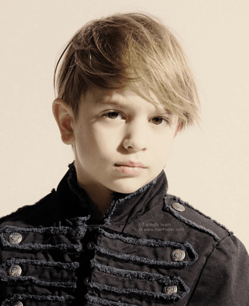 Little Male Distinctive Hairstyle