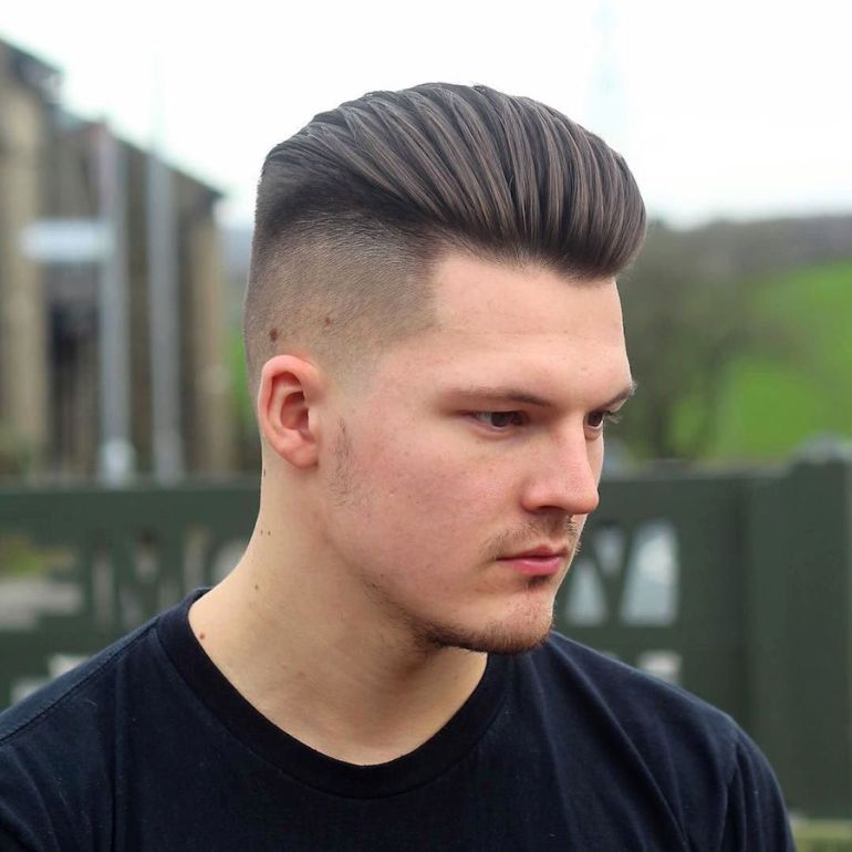 Medium Length Hairstyles for Men: Blow Dried Back - harpmagazine-com