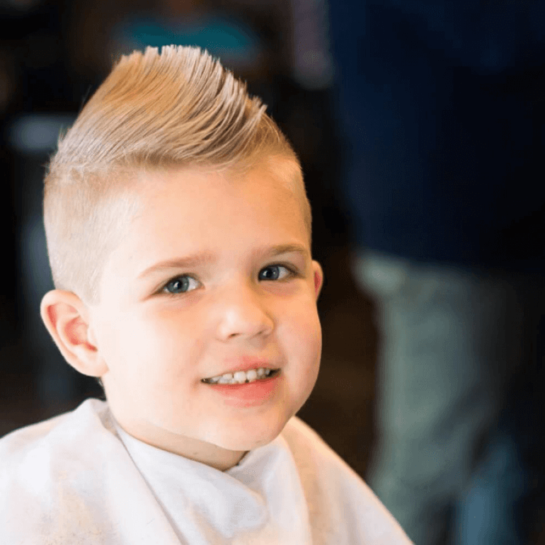 Kids Hairstyles Ideas, Trendy And Cute Toddler Boy (Kids