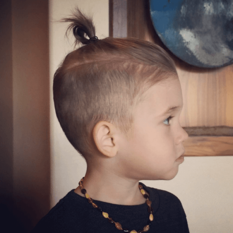 Samurai Cut Kids Hairstyles