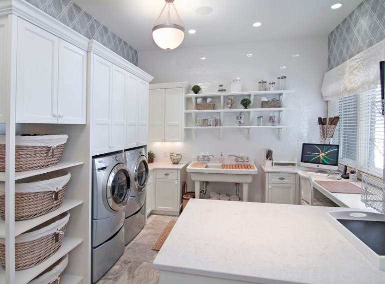 Create a Multi-Purpose Laundry Room Ideas