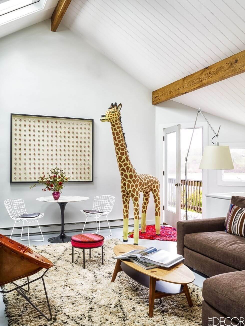 2 Playful Small Living Room