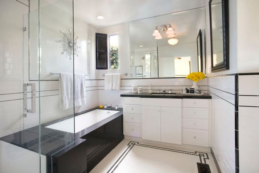 Light Colors Promote a Greater Feeling of Space Small Bathroom Ideas
