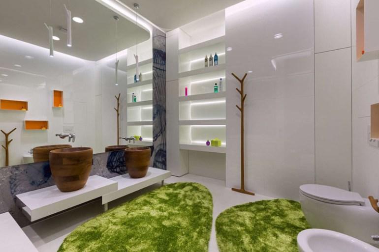 Bathroom Mirror Ideas - A Single Large Mirror 4 - harpmagazine.com