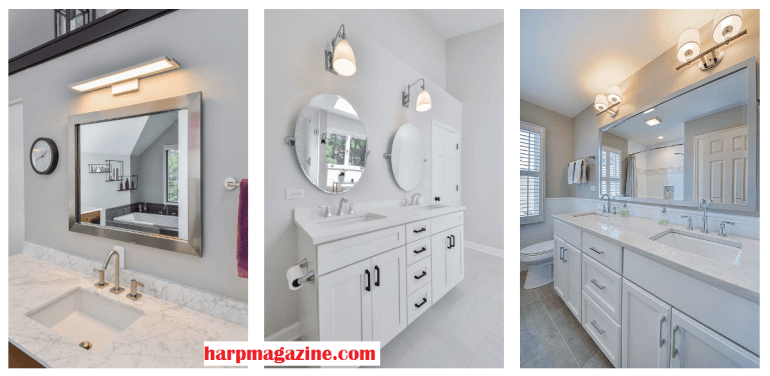 Bathroom Mirrors Ideas One or Two Bathroom Mirrors - harpmagazine.com