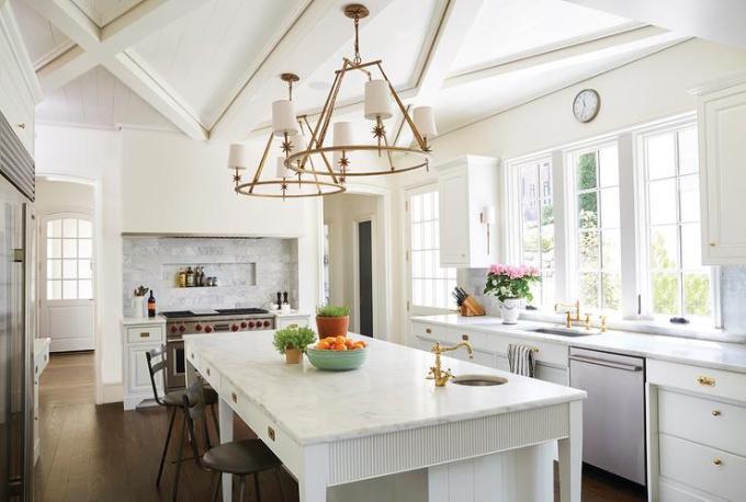 Kitchen Lighting Ideas - Shabby Chic Chandelier B - harpmagazine.com
