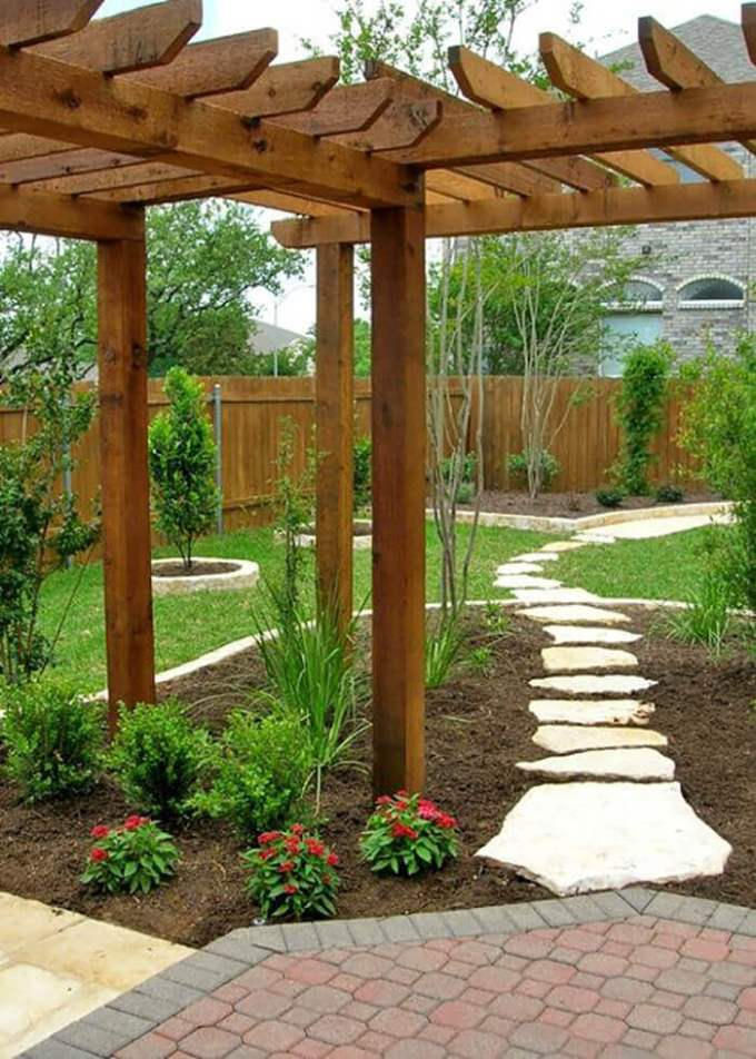 Backyard Landscaping Ideas - Wandering Paths - harpmagazine.com