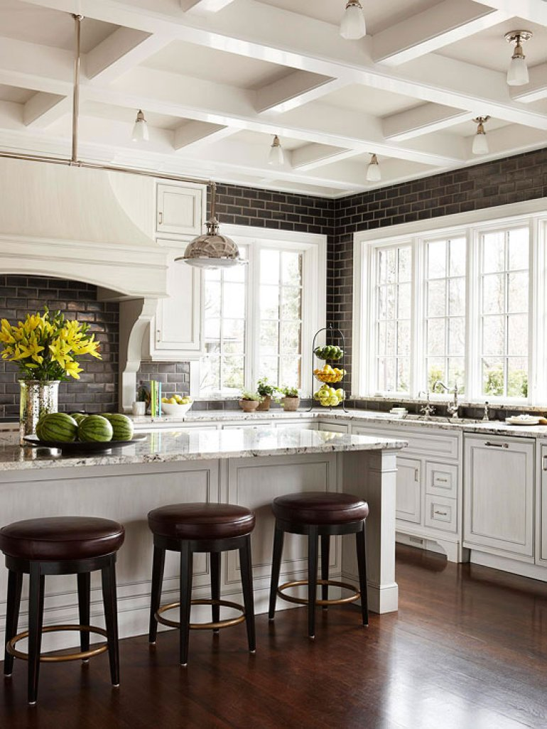 Kitchen Lighting Ideas - Layers of Light - harpmagazine.com