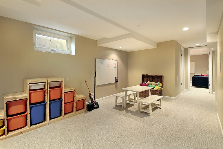 Low Basement Ceiling Ideas - Painting Tips To Make Basement Ceiling Look Higher - Harpmagazine.com