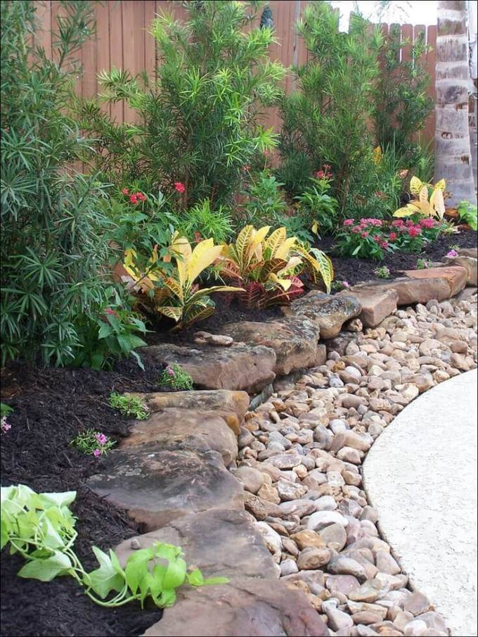 Backyard Landscaping Ideas - Rocky Levels - harpmagazine.com