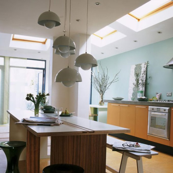 Kitchen Lighting Ideas - Multi-level lighting - harpmagazine.com