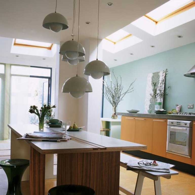 Kitchen Lighting Ideas - Multi-level lighting - harpmagazine.com